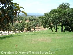 The Girona Golf Course From The Clubhouse