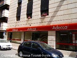 There Are Employment Agencies In Gerona. This Branch Of Adecco Is Next to The Train Station
