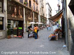 A Street Near The Hotel Ciutat Gerona